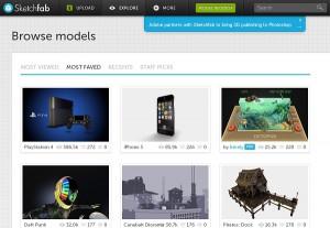 3D-модели Sketchfab