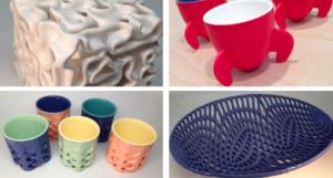 напечатанная керамческая посуда
