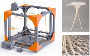 3D-принтер с рабочим объемом более 1 м.куб.