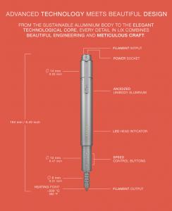 LIX 3D pen характеристики