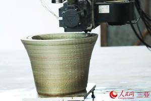 гигантская ваза на 3D-принтере