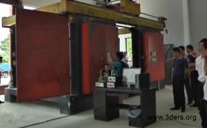 гигантский fdm 3d-принтер