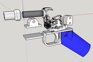 Новый тип патрона для пластикового пистолета