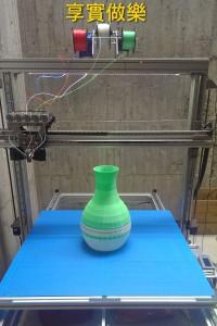 большой CMYKW FDM 3D-принтер 01