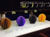 образец печати 3D-принтера STACKER