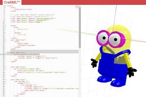 Разработан язык разметки для создания 3D моделей с помощью тегов html, CSS и javascript