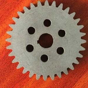 металлическая шестерня напечатанная на slm 3D принтере